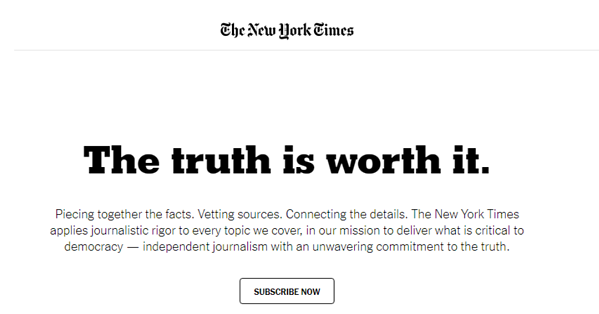 Price of truth